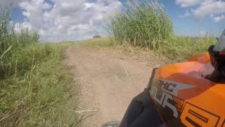9. Opening up the RZR 4 XPT Orange Inferno