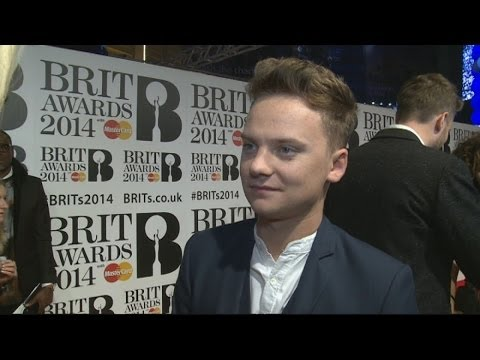 MAYNARD - Subscribe to TheShowbiz411! http://bit.ly/1dXOPuV We got chatting to the lovely Conor Maynard at the Brit Awards in London and he had a lot of love for Ellie...