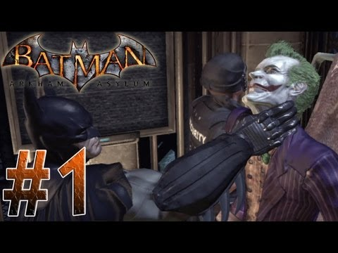 kNIGHTWING01 - Batman Arkham Asylum Part 1!