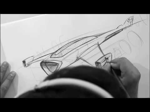 DESIGN ZEICHNEN und VERSTEHEN – WORKSHOP – speed drawing – design sketching