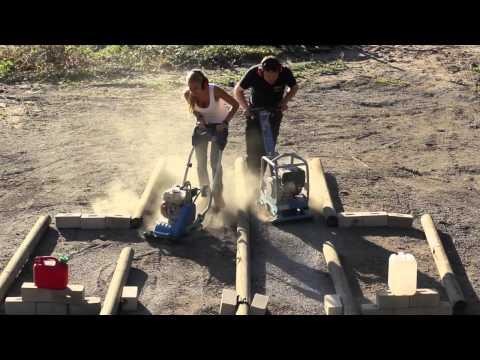 Die Rüttelplatten - Rentas Mietgeräte