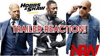 Hobbs & Shaw! Trailer 2 Reaction! #NRW! #NewReleaseWednesday! #hobbsandshaw! #fastandfurious!