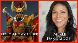 Characters and Voice Actors - Dota 2 (Updated)