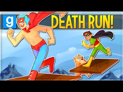 Garrys Mod - THE INCREDIBLE RUN! Gmod Deathrun Funny Moments (Garry's Mod)