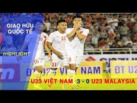 Xem lại Việt Nam 3 - 0 Malaysia 7-2-2017, Highlights, Giao Hữu 2016 - 2017