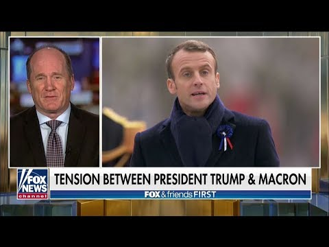 'He's Factually Inaccurate': Army Vet Slams Macron's 'Nationalism' Dig at Pres. Trump