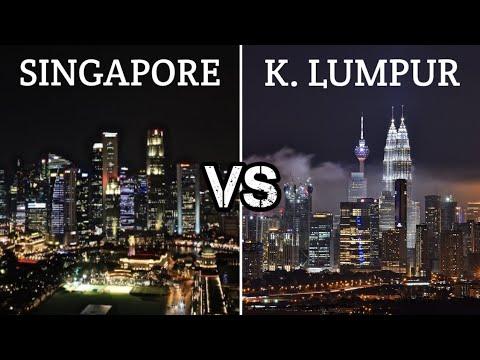 SINGAPORE VS. KUALA LUMPUR   Singapore and Malaysia   #TheASEANSection