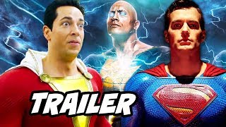 Video Shazam Trailer - Justice League Easter Eggs and Jokes Breakdown MP3, 3GP, MP4, WEBM, AVI, FLV Januari 2019