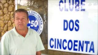 Presidente do Clube dos 50 na TV Portal Dores de Campos