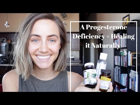A Progesterone Deficiency + Healing it Naturally