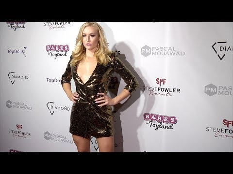 """Karlee Lauryn 2018 Babes in Toyland """"Holiday Toy Drive"""" Red Carpet"""