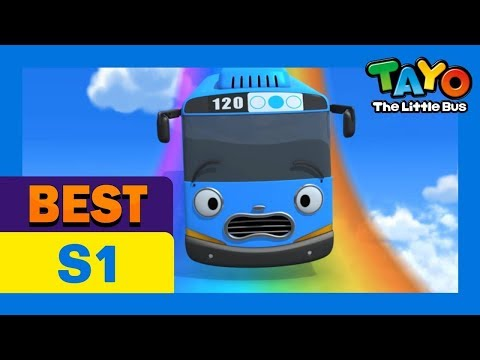 Bus - Tayo the Little Bus Opening theme song in english ♪Tayo, Tayo, Tayo, Tayo, he's a friendly little bus♪ ♪Speeding up, slowing down, Tayo always loves to run♪ ...