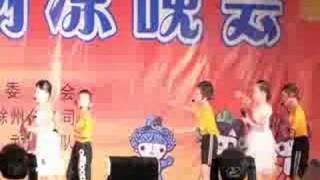 Chuzhou China  city photo : Chinese Kids Sing English Song ChuZhou City Anhui Province China