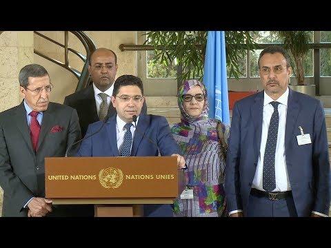"""جنيف: المغرب يأمل في """"انخراط الأطراف الأخرى بإرادة حقيقية"""""""