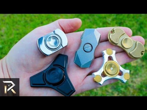 la moda dei fidget spinners: i 10 più costosi in circolazione!
