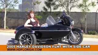 2. Used 2005 Harley Davidson Electra Glide Motorcycle with Side Car for sale