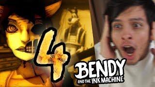 ALICE ANGEL SACRIFICÓ A BORIS EN EL CAPÍTULO 4   Bendy And The Ink Machine CAPÍTULO 4 TEASER