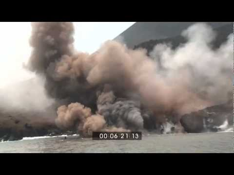 ERUPTION - EarthUncutTV's best volcanic eruption footage shots! Over half an hour of flying lava bombs, billowing ash clouds, churning lava and huge explosions. For lic...