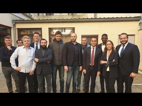 Italien / Frankreich: Di Maio trifft Gelbwesten - privat und auf französisischem Boden