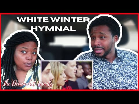 First Time Hearing White Winter Hymnal - Pentatonix Fleet Foxes Cover