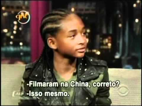 David Letterman entrevista Jaden Smith (Legendado - Português - BR)