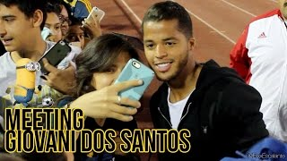 Jackie and I Went to The Final Galaxy 2 Game and Giovani Dos Santos Made a Special Appearance and Fans Went Crazy ...