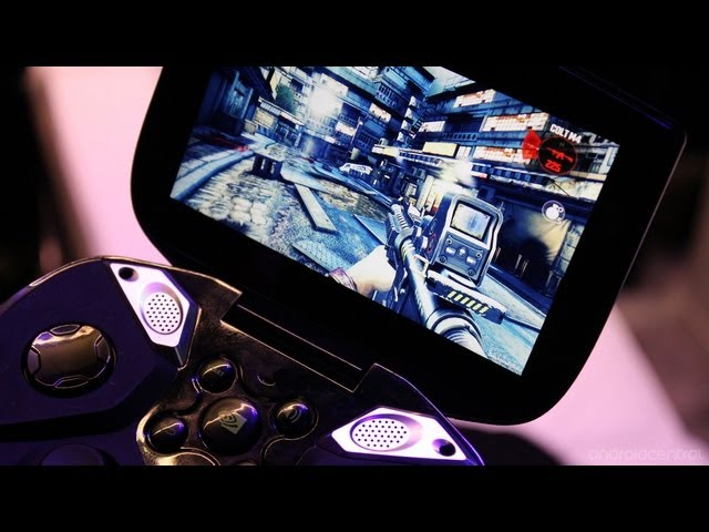 Dead Trigger 2 gameplay on the NVIDIA Project Shield