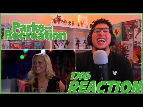 DEAD OR ASLEEP? Parks and Recreation | 1x6 REACTION!!! | Season 1 Episode 6