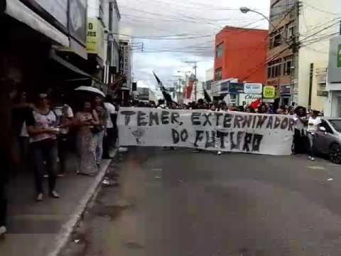 Greve Geral em Vitória da Conquista 28.04 2008 #ForaTemer