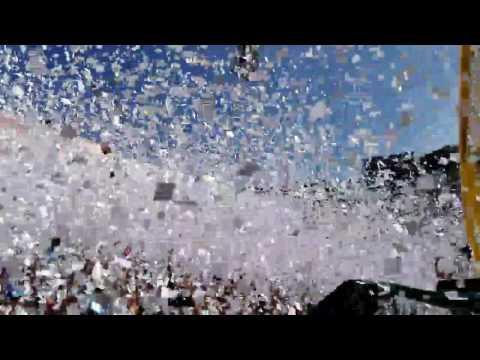El mejor recibimiento de la historia final ALIANZA-18 diciembre 16 - La Ultra Blanca y Barra Brava 96 - Alianza
