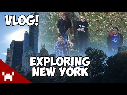 Footage - We were all flown out for the launch of Sunset Overdrive, but we got some time to sneak away and explore the city! There's way too much to do here, but we managed to hit Central Park, Times...