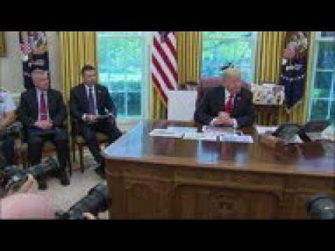 Trump: US helping Bahamas with Dorian recovery