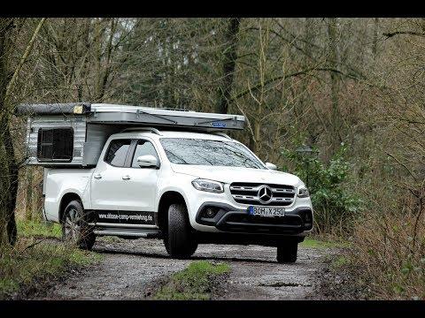 Wohnkabine Four Wheel Campers Wildcat SD Silverspur - passt auf X-Klasse Mercedes