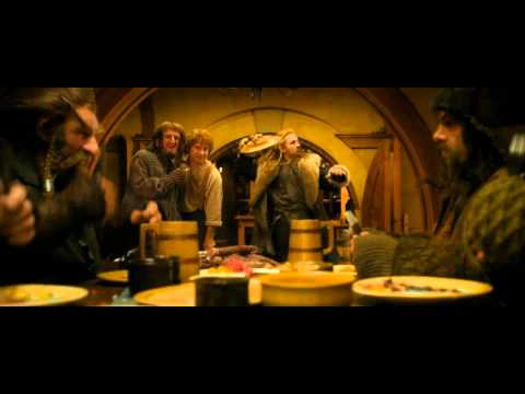 Bilbo - I just had to! Tags. Ignore The Hobbit An Unexpected Journey That's What Bilbo Baggins Hates song sing dwarfs singing movie 2012 2013 J.R.R Tolkien Peter Jac...