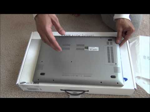 Samsung ATIV Book 8 Unboxing