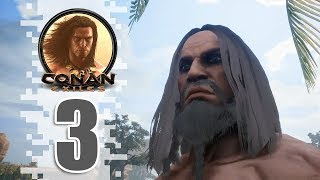 Full Aquilonian! - EP03 - CONAN EXILES (Removing The Bracelet)