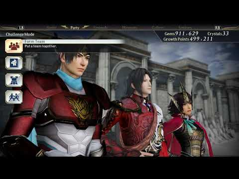 Warriors Orochi 4 - Removal Of Gold Elements From Warrior Training