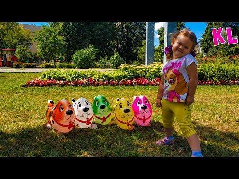 Неожиданное приключение Лизы и ее игрушек Развлекательное видео для детей