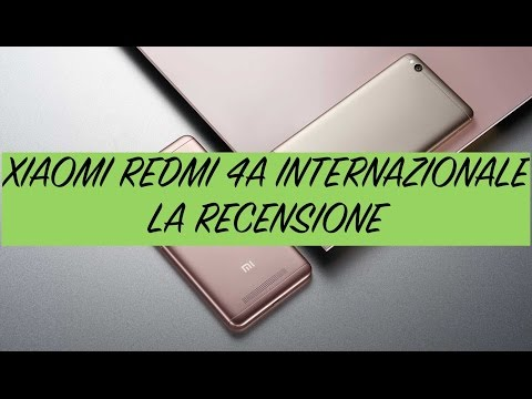 Recensione Xiaomi Redmi 4A Internazionale (Global Version)