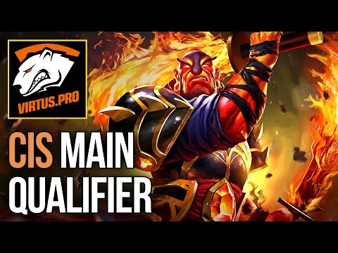 Dota 2 - BEST PLAYS - CIS Main Qualifier - Kiev Major