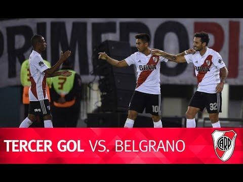 Segundo gol de Scocco vs. Belgrano de Córdoba