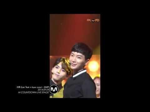 이특 - [직캠] 140904 ch.MPD SUPER JUNIOR 이특 -SHIRT/ Lee-Teuk.ver M COUNTDOWN COMEBACK STAGE!! You can just watch this VIDEO on YouTube ch.MPD.