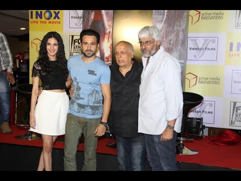Emraan Hashmi, Amyra Dastur Unveils A Unique Marketing Innovation For Film Mr X