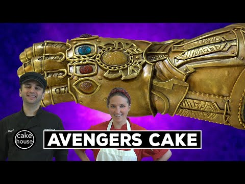 Marvel's Avengers Infinity Gauntlet Cake | Sculpting With Ralph