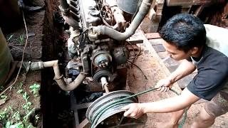 Video starting the truck engine without the battery. hand made. MP3, 3GP, MP4, WEBM, AVI, FLV November 2018