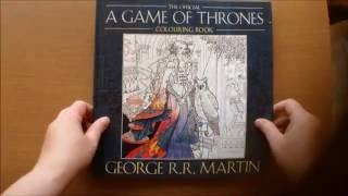 The Official Game Of Thrones Colouring Book by George R. R. Martin Flip through.