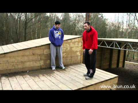 flip - Learn Parkour, Tricking and Free Running with 3RUN Tutorials. Side flip Tutorial with Sam Parham and Shaun Andrews. www.3run.co.uk http://www.facebook.com/te...