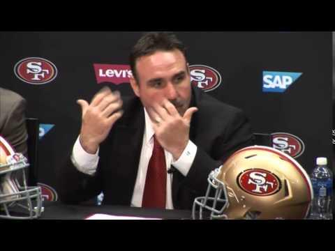 49ers - LIVE: San Francisco 49ers new head coach Jim Tomsula.