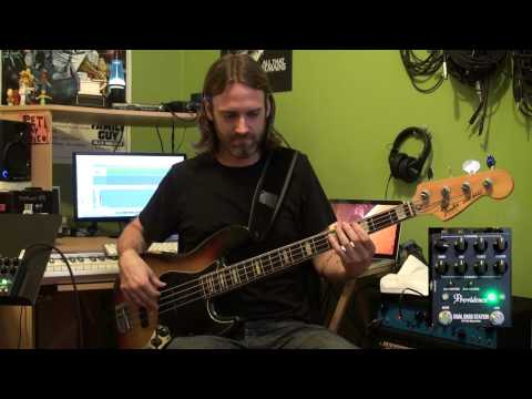 Providence Dual Bass Station Demo by Pete Griffin Part I: Using the DBS-1 with One Bass