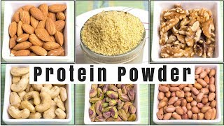 Protein Powder  How to Make Protein Powder at Home